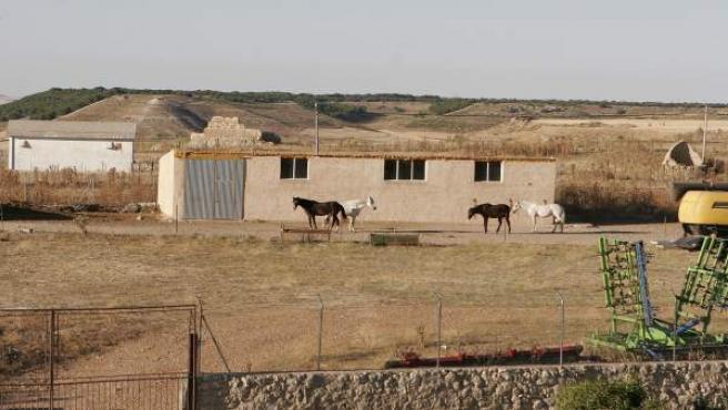 Pueblo típico castellano
