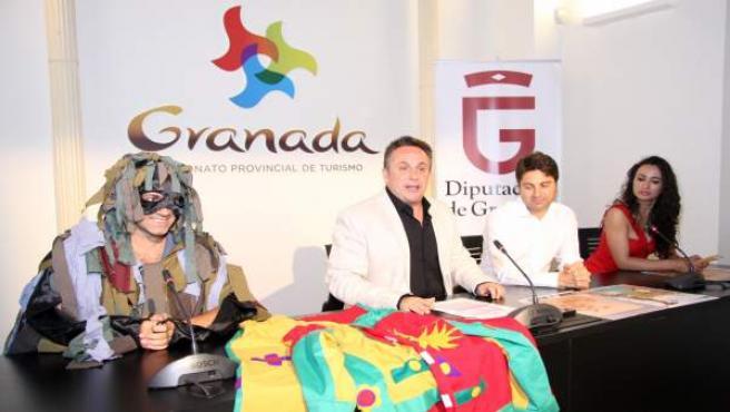 Rueda de prensa de la presentación de las actividades sobre el Cascamorras