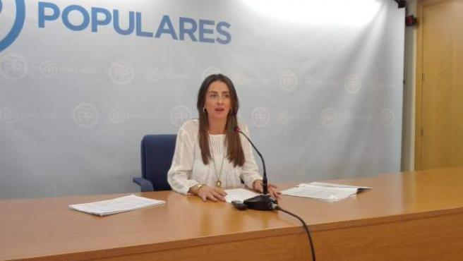 La diputada autonómica del PP por Almería Aránzazu Martín
