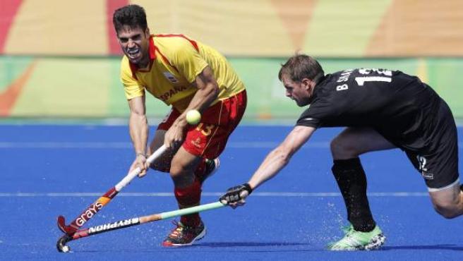 La selección española de hockey ganó 3-2 a Nueva Zelanda en su tercer partido en los Juegos de Río.
