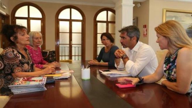 Navas reunido con Brexpats in Spain