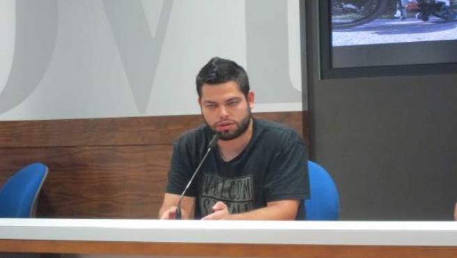L concejal de Economía y Empleo de Oviedo, Ruben Rosón.