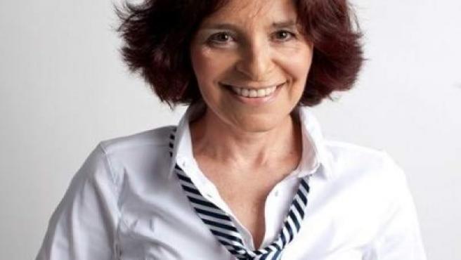 La precandidata de Ciudadanos, la periodista viguesa Cristina Losada