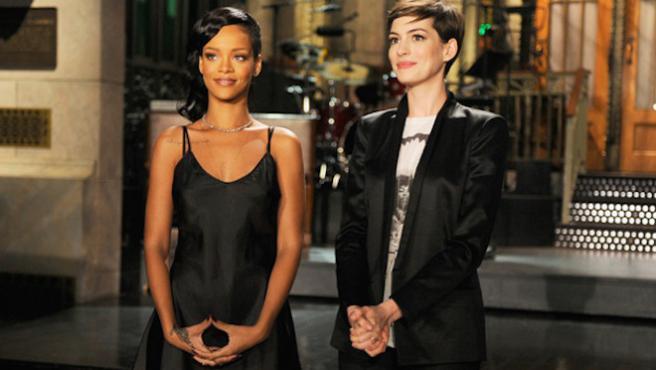 'Ocean's Eight' crece con Rihanna, Anne Hathaway y más