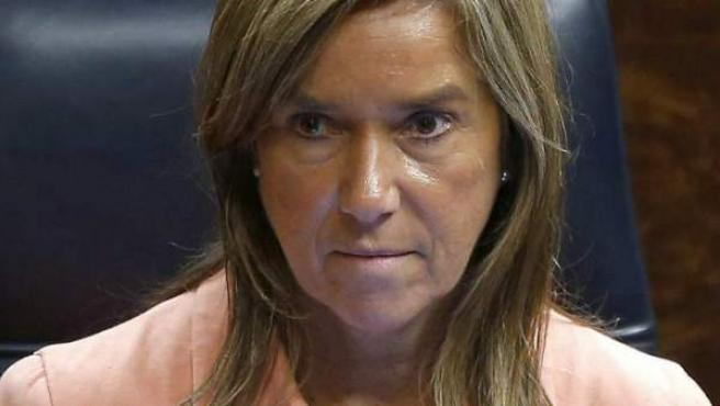 Fotografía de archivo, del 22/10/2014, de la entonces ministra de Sanidad, Ana Mato, condenada por Gürtel como partícipe a título lucrativo.