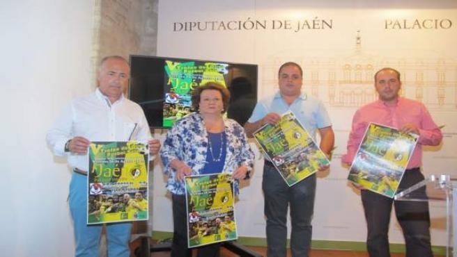Presentación del V Trofeo del Olivo de Fútbol Sala.