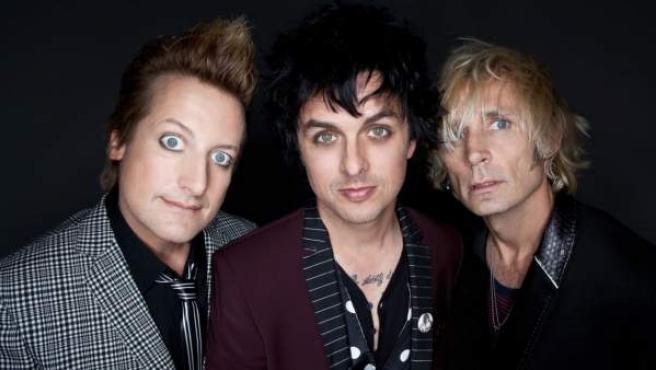 Green Day, en una foto promocional.