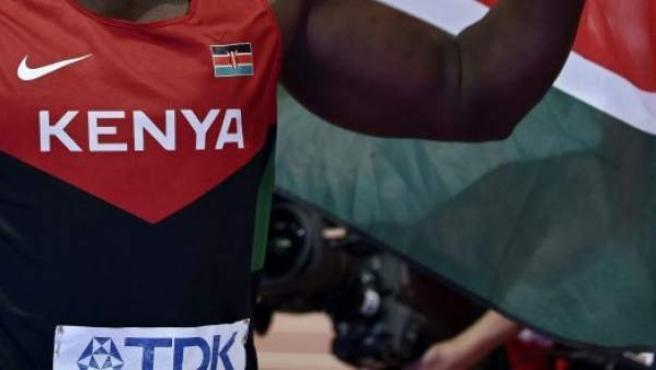 Imagen de un atleta keniano.