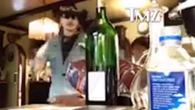 La violenta discusión de Johnny Depp y Amber Heard publicada por TMZ.