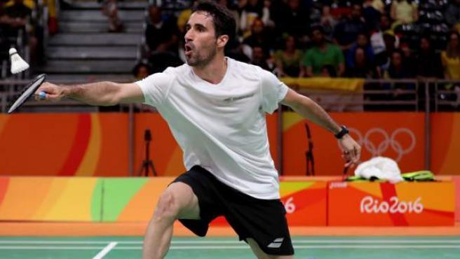 <p>El jugador de bádminton español Pablo Abián, en los Juegos de Río.</p>