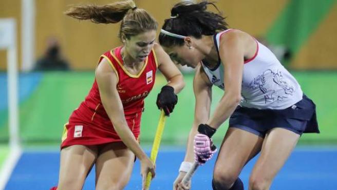 España y Reino Unido se enfrentan en cuartos de hockey hierba femenino.
