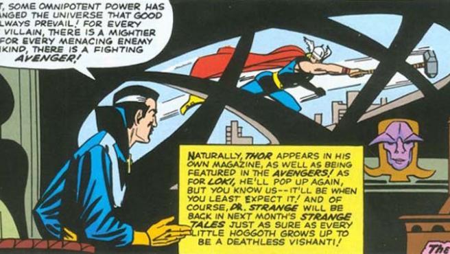 ¿Le hará una visita Thor a Doctor Extraño?