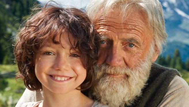 Una imagen de la película 'Heidi'.