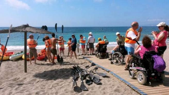 Programa de Vacaciones IMSERSO-COCEMFE en Ceuta