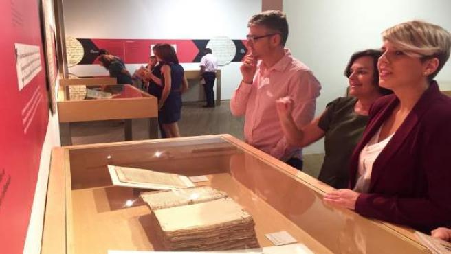 Imagen de archivo de la exposición 'Al pie de la letra. De la gótica al WhatsApp
