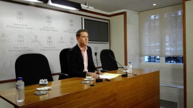 David González Medina, diputado del PP en la Junta General