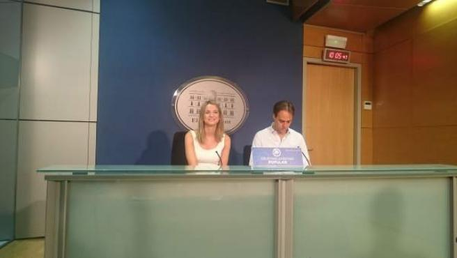Marga Prohens y Álvaro Gijón