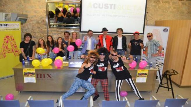 Presentación del festival Acustiqueta del año 2015