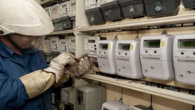 Colocación de contadores de telegestión en Endesa