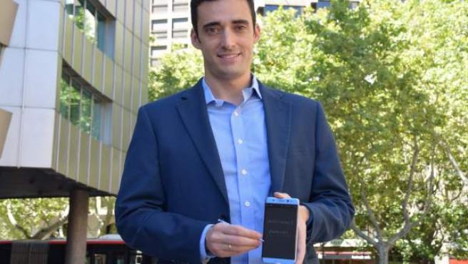 El Responsable De Tecnología De Samsung España, Ángel Pascual, En Zaragoza.