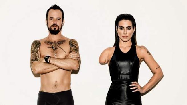 """Imagen de la campaña de Vogue Brasil: """"Somos todos paralímpicos""""."""