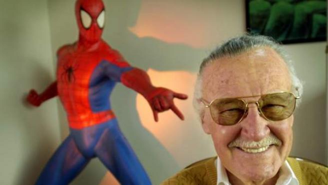 Stan Lee, creador de Spider-Man.