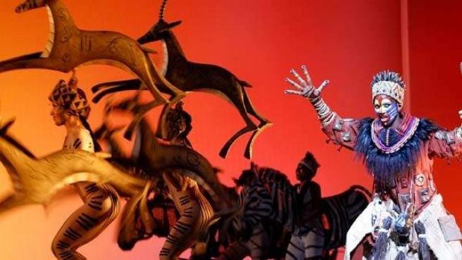 El musical 'El rey león' ha sido traducido a siete idiomas y llevado a diferentes ciudades del mundo, entre ellas Madrid.