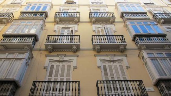 Bloque, piso, pisos, casas, ventanas, alquiler, compra, edificio, centro
