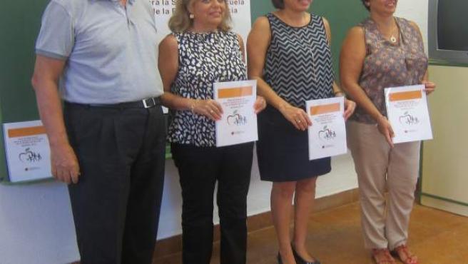 Presentación del nuevo Plan de Educación para la Salud en la Escuela