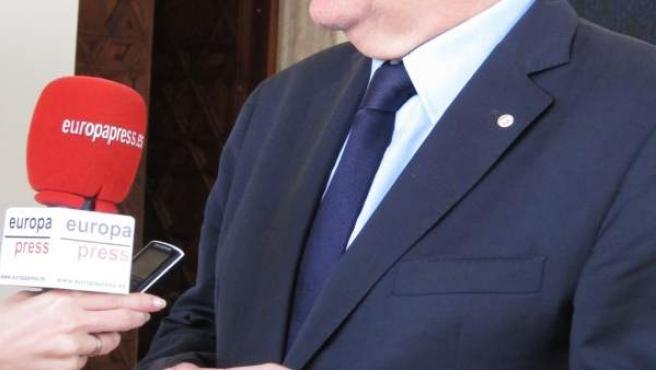 El presidente de la Generalitat, Ximo Puig, atiende a EP