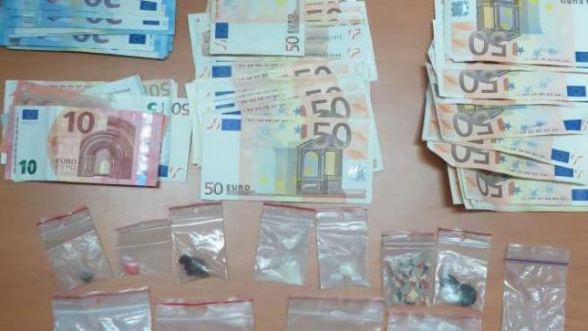 Droga incautada en Sotoserrano (Salamanca)