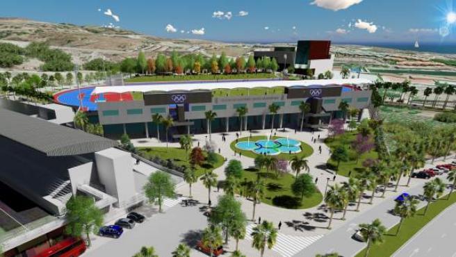 El Ayuntamiento Invertirá 5 Millones De Euros En Un Estadio De Atletismo Con Par