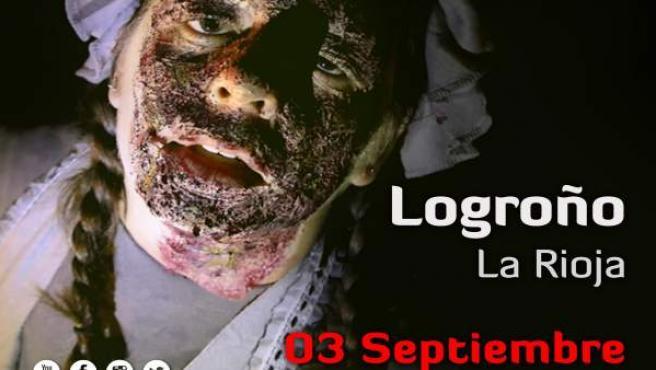 Cartel Survivan Zombie Logroño