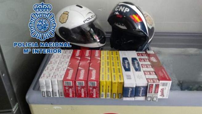 La Policía Nacional Realiza Seis Actuaciones Contra El Tabaco De Contrabando En