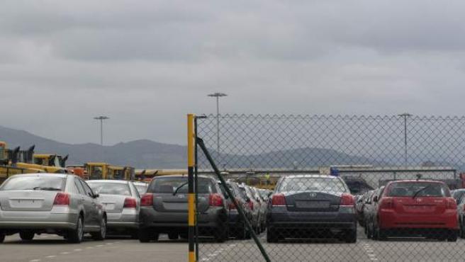Vehículos En El Puerto De Santander