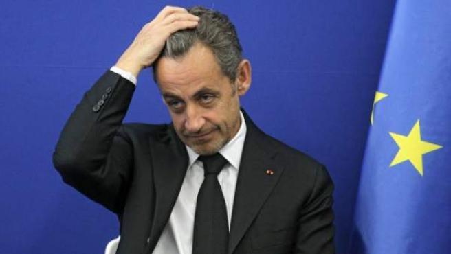 El expresidente francés Nicolas Sarkozy en una imagen de archivo.