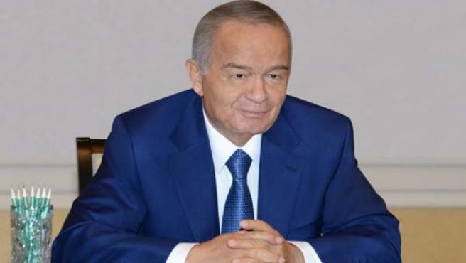 El presidente uzbeko, Islam Karímov.