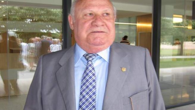 Luis Torres, presidente de la cocina económica de Gijón