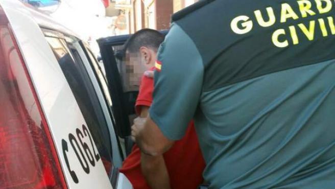 Foto de la puesta de los detenidos a disposición judicial.