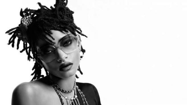 La hija de Will Smith, Willow, posa para la nueva campaña de Chanel.