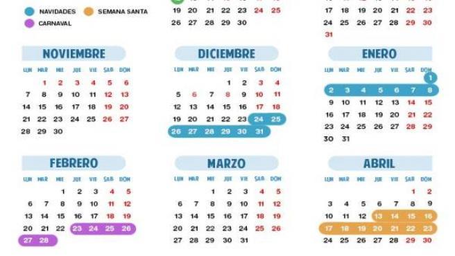 Cantabria Tendrá El Calendario Escolar Más Novedoso Con Una Semana De Descanso Cada Dos Meses Lectivos