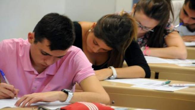 Alumnos, selectividad, examen, PAEG