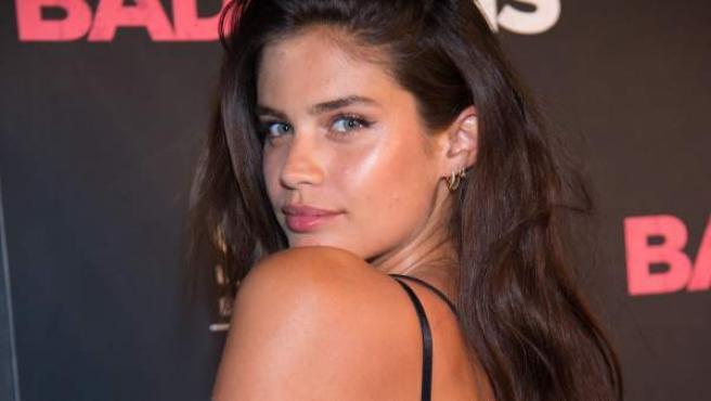 La modelo portuguesa Sara Sampaio, en un evento en Nueva York en junio de 2016.