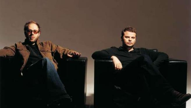 Los componentes de The Chemical Brothers.