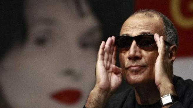El director iraní en 2010 durante la presentación de su película 'Certified copy'.