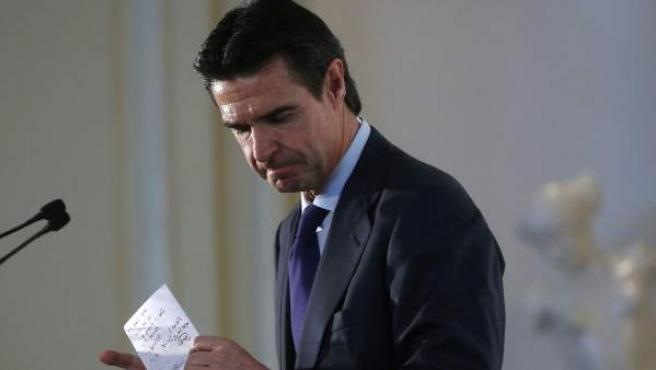 Fotografía de archivo (13/04/2016) del exministro de Industria, José Manuel Soria.