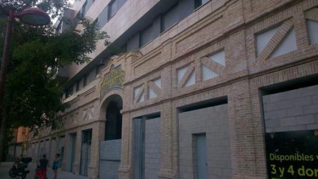 El Garaje Miraflores integrado en el nuevo edificio.