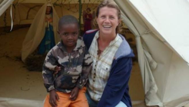 La religiosa Isabel Sola, asesinada a tiros en Haití.