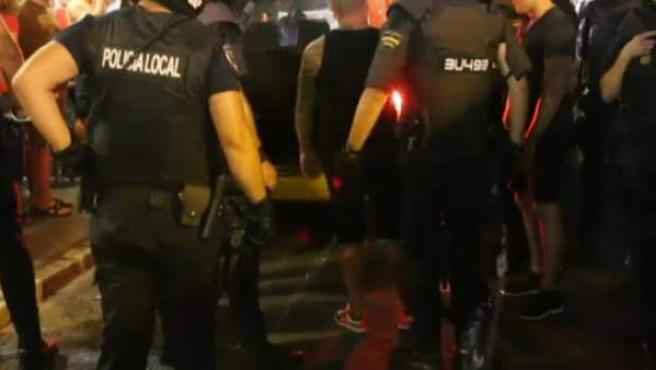 Policía de Palma de Mallorca.