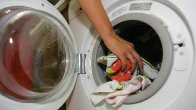 Imagen de archivo de una lavadora.